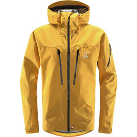 Haglöfs Spitz Jacket Men pumpkin yellow